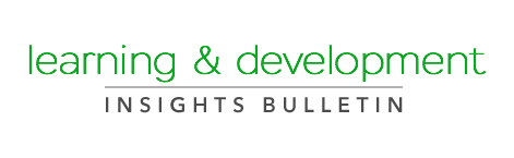 learning and development insights bulletin